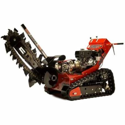 Rent a 2' Walk-Behind Track Trencher!