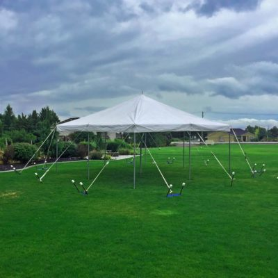 Rent a 20' × 20' Canopy from Pasco Rentals!