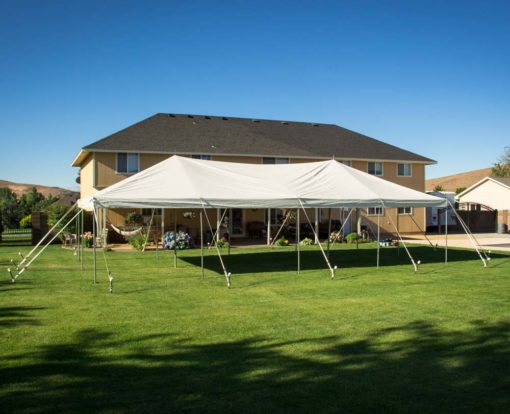 Rent a 20' × 40' Canopy from Pasco Rentals!