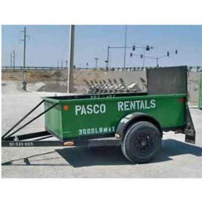 Rent a 5'x8' Utility Trailer from Pasco Rentals!