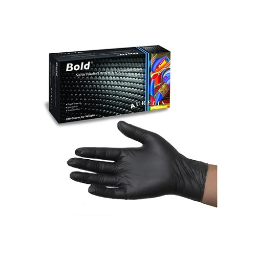 Buy Black Nitrile Disposable Gloves from Pasco Rentals!