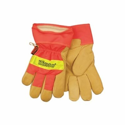 Buy a pair of High Visibility Lined Leather Gloves from Pasco Rentals!