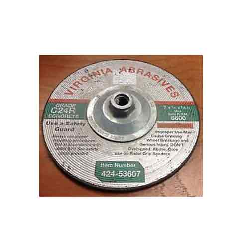 "Buy a 7"" Concrete Grinding Wheel from Pasco Rentals!"