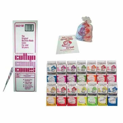 Cotton Candy Supplies and Sugars
