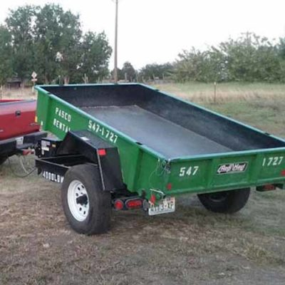 Rent a Dump Trailer from Pasco Rentals!