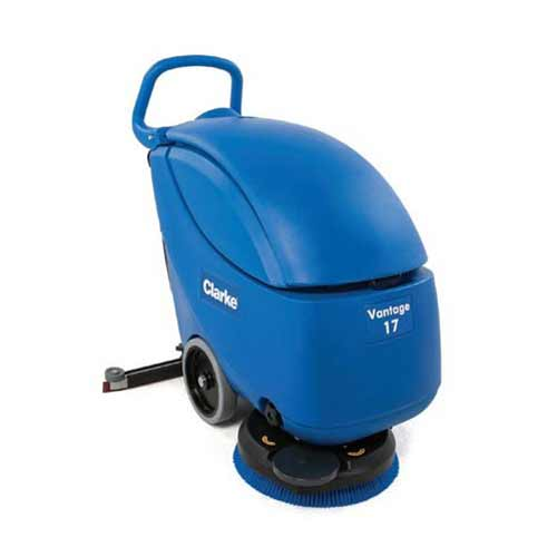 """Rent a 17"""" Automatic Floor Scrubber from Pasco Rentals!"""