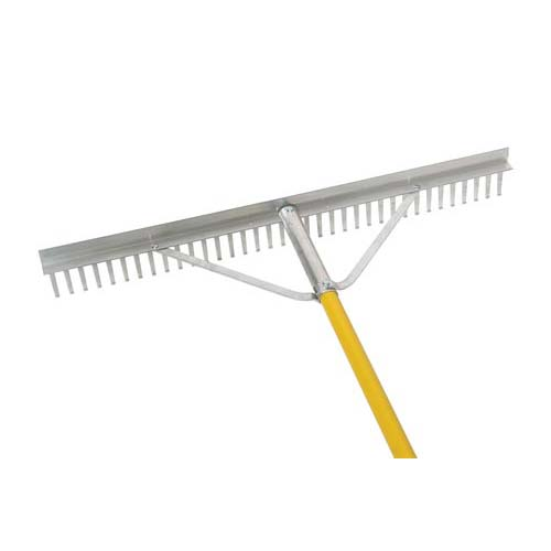"Rent a 36"" Landscape Rake from Pasco Rentals!"