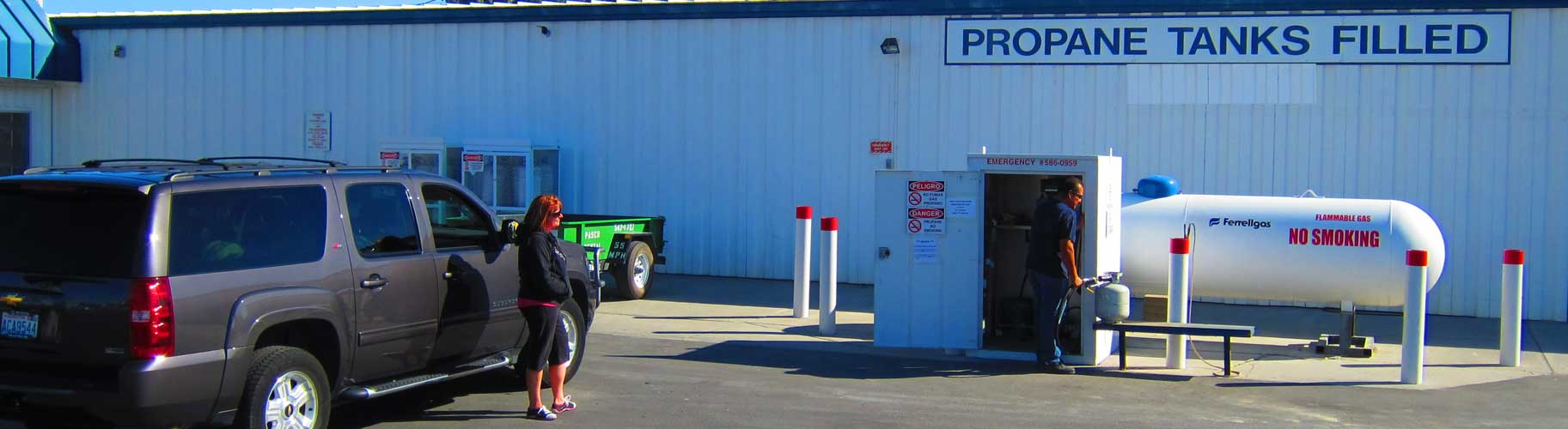 Buy Propane Gas at the Fastest Refill Station in the Tri-Cities!