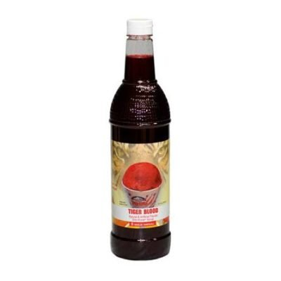 Buy Tiger Blood Snow Cone Syrup from Pasco Rentals!