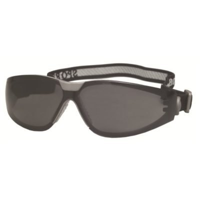 ERB Sport Boas Safety Glasses with Smoke Frame and Smoke Lens