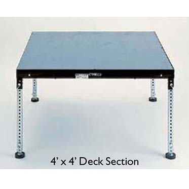 Rent Stage Platform Sections to Build Your Own Stage at Pasco Rentals!